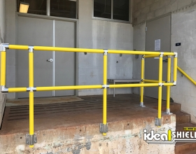 Steel Pipe and Plastic handrail 2