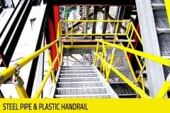 Warehouse - Steel Pipe & Plastic Handrail