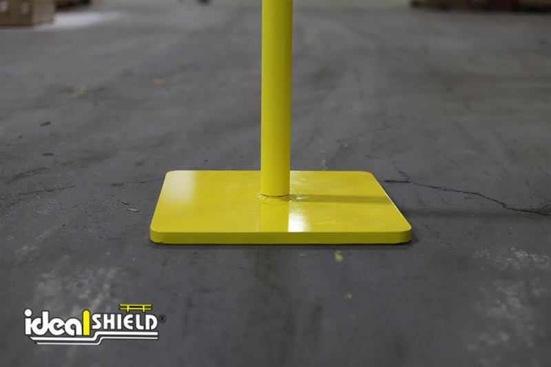 Ideal Shield's Warning Line System bases