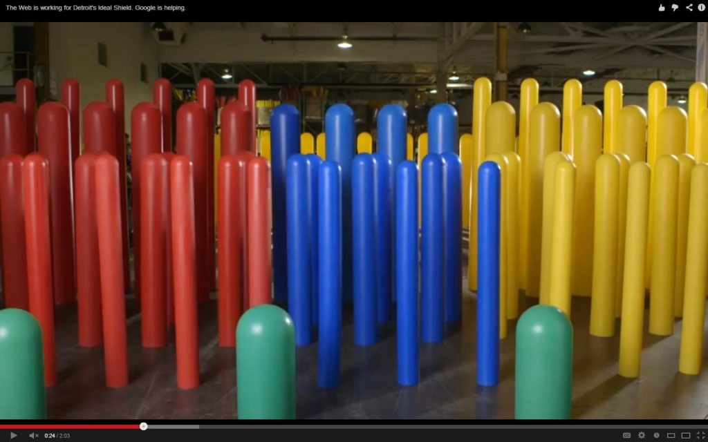 Ideal Shield's plastic bollard covers in multiple colors