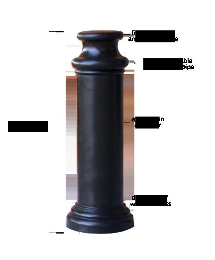 10_Pawn Decorative Bollard