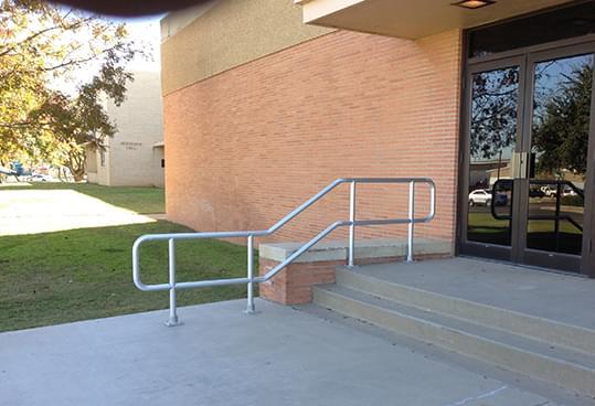 Odessa College Aluminum Handrail
