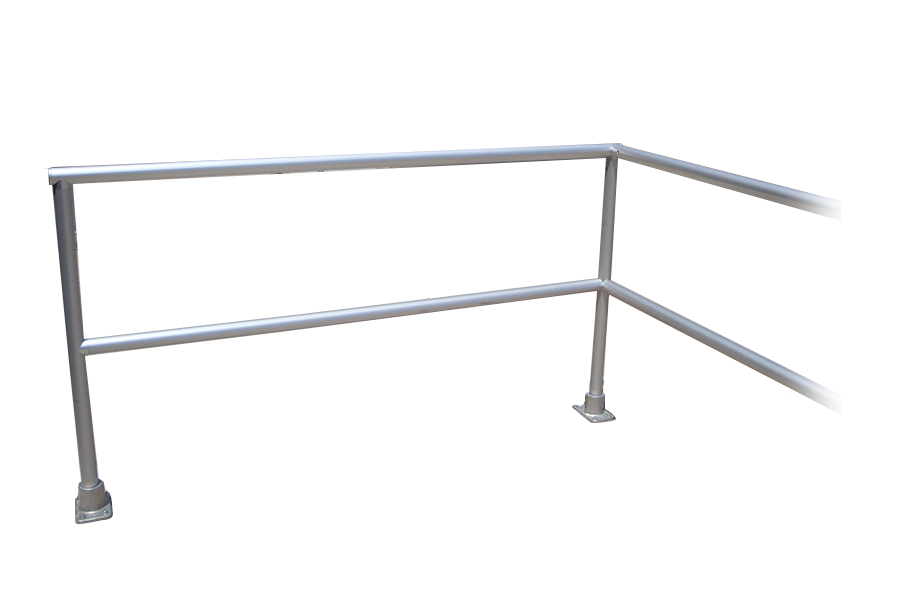two-line-aluminum-picket-handrail