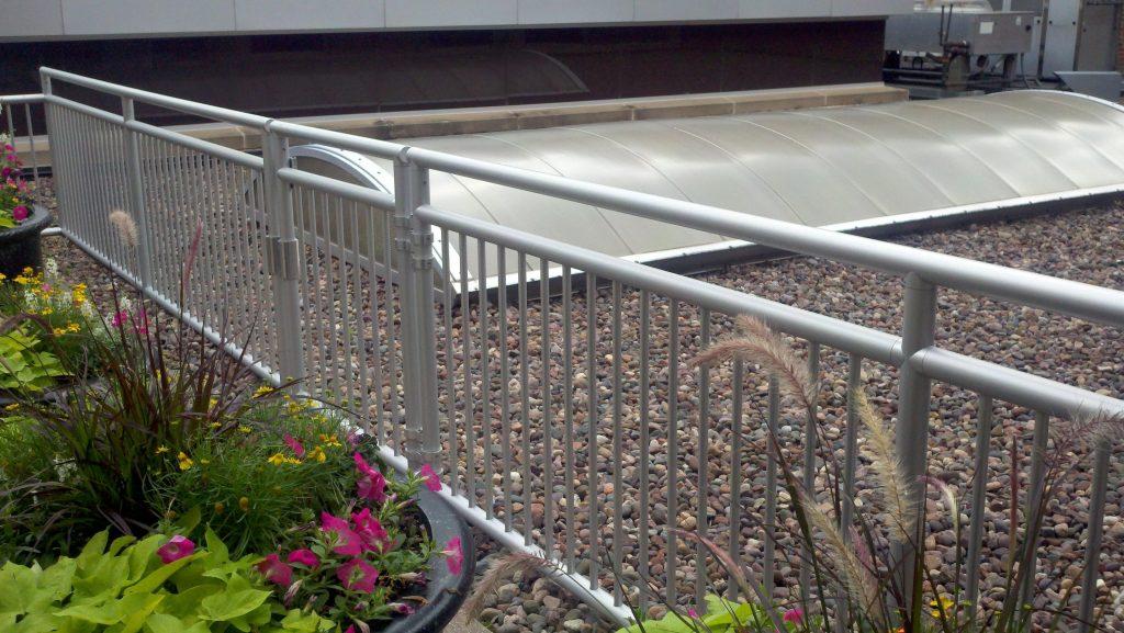 Ideal Shield's Aluminum handrail