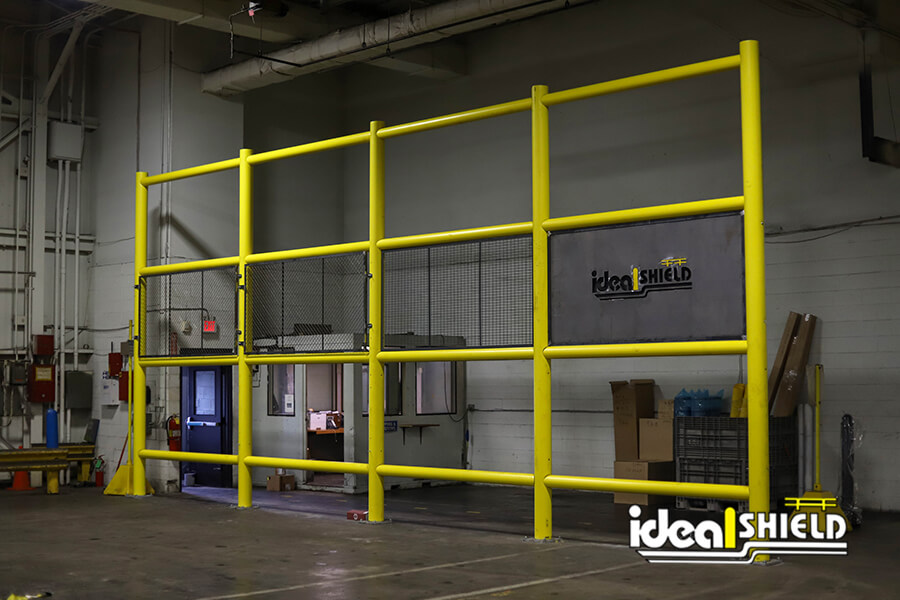Ideal Shield's Safety Wall Guard