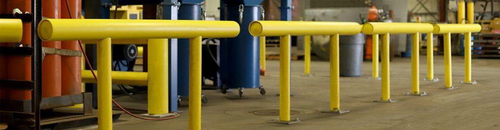 Ideal Shield's Standard Industrial Guardrail