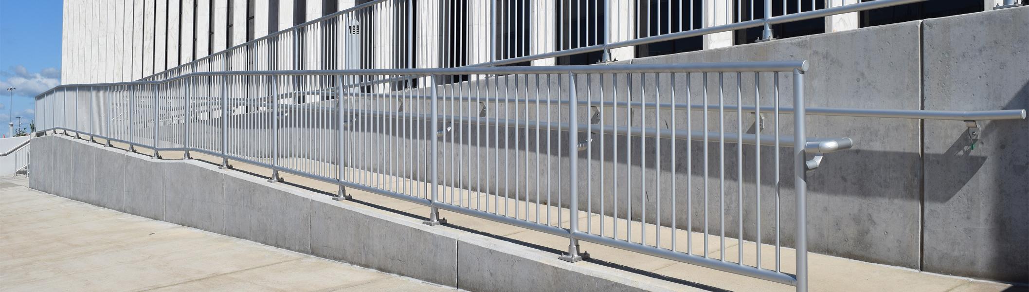 Aluminum Handrail | Ideal Shield