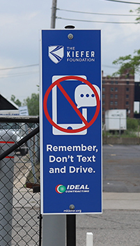 Distracted Driving Signs