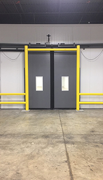 Goal Post Dock Door Protection