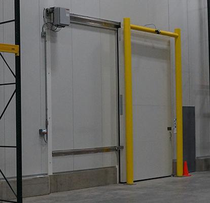 Ideal Shield's Goal Post Dock Door Protection