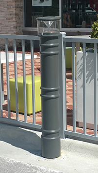 Lighted Decorative Bollard Cover