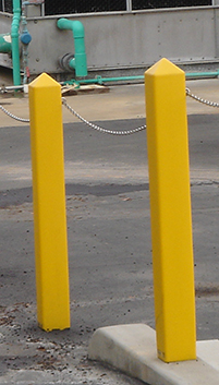 Square Bollard Covers