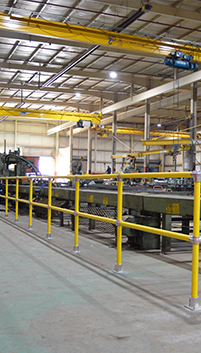 Steel Pipe & Plastic Handrail