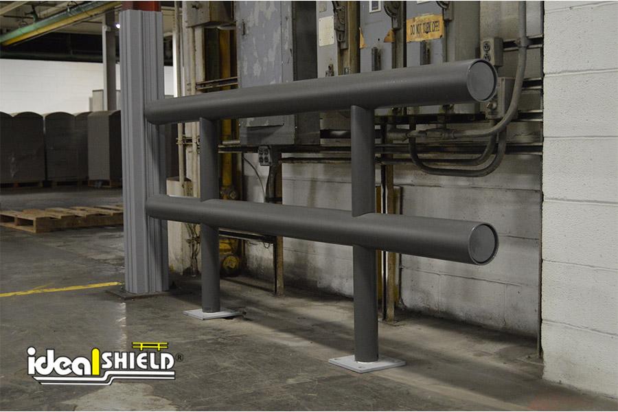 Ideal Shield's Gray Standard Guardrail