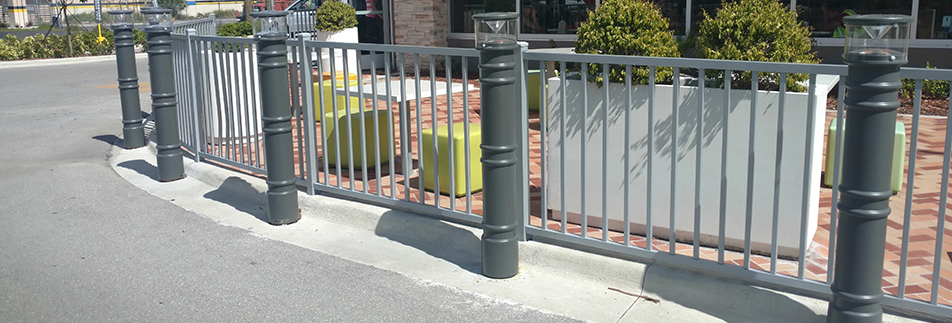 Lighted Bollard Covers