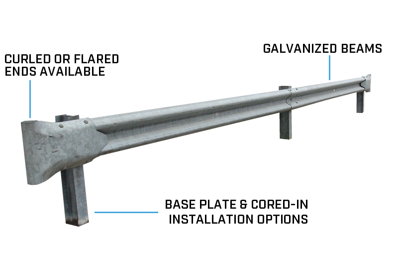 Highway Guardrail | Ideal Shield