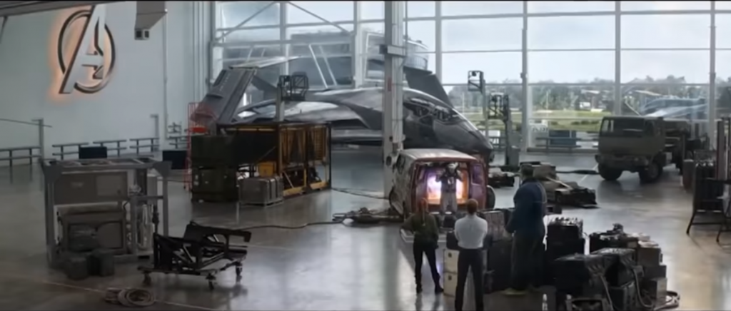 Ideal Shield's Gray Industrial Guardrail in Avengers: Endgame