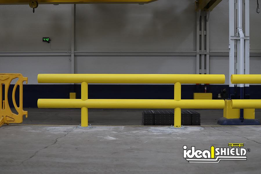 Ideal Shield's Heavy Duty Industrial Guardrail