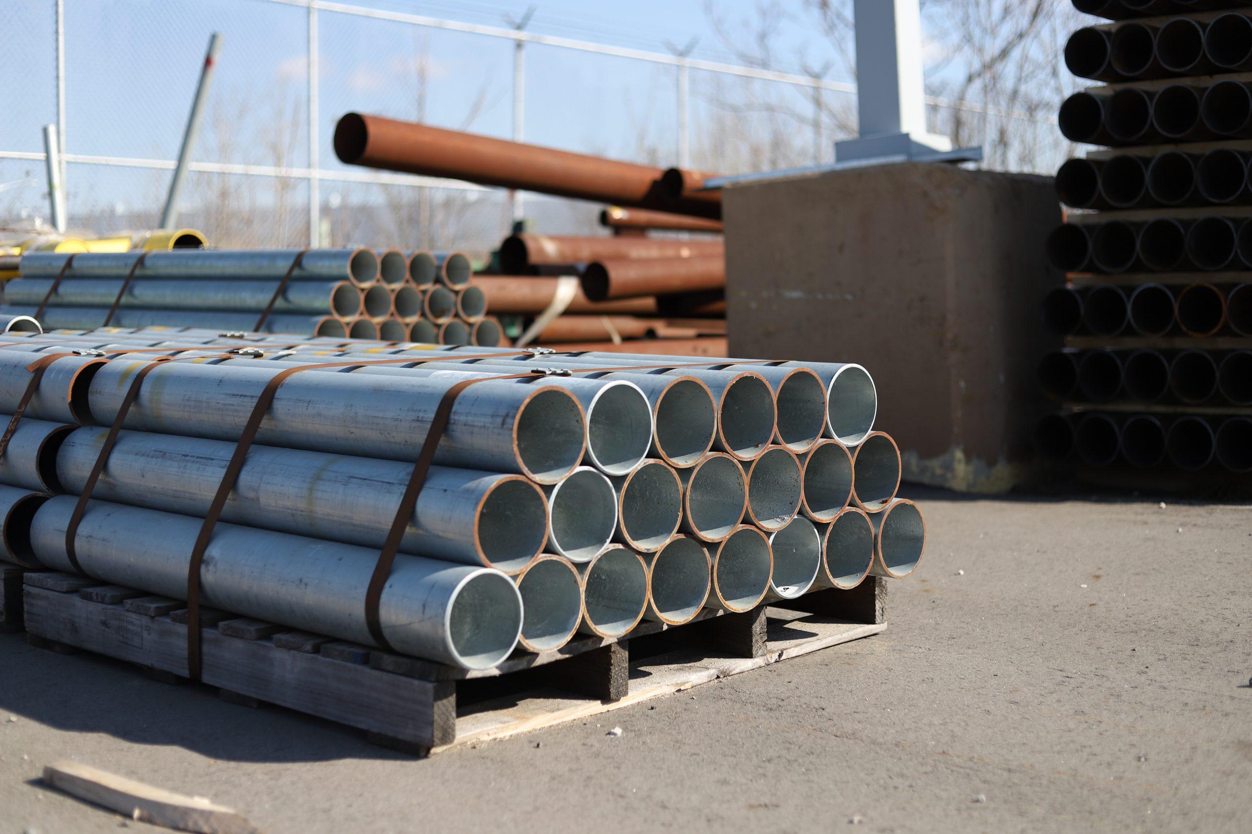 Ideal Shield's Steel Pipe